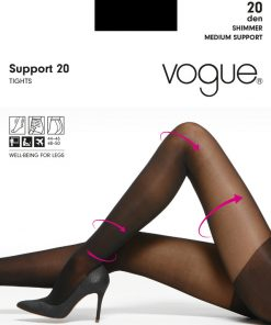 Vogue Support 20den sokkabuksur